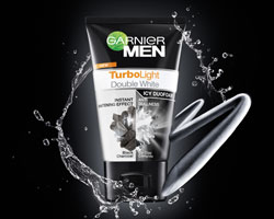 Men Turbo Light White + Oil Control Duo Foam