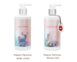 Earths Passion Perfume Body Lotion และ Earths Passion Perfume Shower Gel